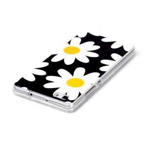 Softy gelový obal na mobil Huawei P8 Lite - sedmikrásky - 3