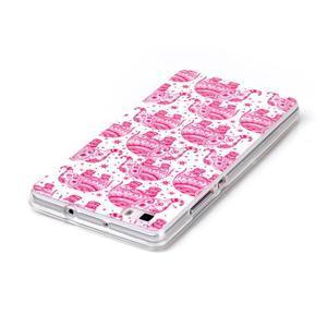 Softy gelový obal na mobil Huawei P8 Lite - růžoví sloni - 3