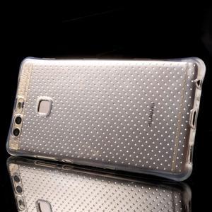Transparentní gelový obal se zesílenými rohy na Huawei P9 Lite - 3