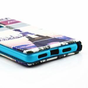 Knížkové pouzdro na mobil Huawei P9 Lite - Eiffelka - 3