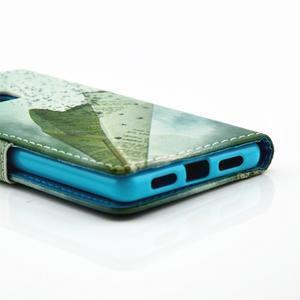 Knížkové pouzdro na mobil Huawei P9 Lite - vlaštovka - 3