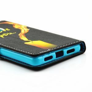Knížkové pouzdro na mobil Huawei P9 Lite - miluji tě - 3
