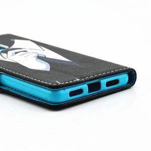 Knížkové pouzdro na mobil Huawei P9 Lite - muž v kravatě - 3