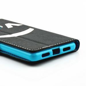 Knížkové pouzdro na mobil Huawei P9 Lite - nedotýkat se - 3