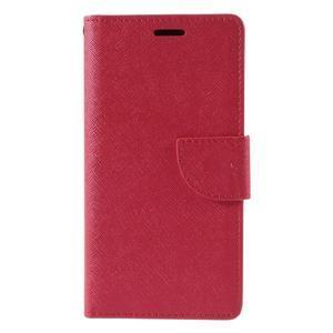 Easy peněženkové pouzdro na mobil Huawei P9 Lite - červené - 3
