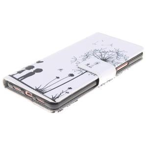 Knížkové PU kožené pouzdro na Huawei P9 Lite - láska - 3