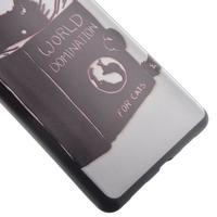 Softy gelový obal na mobil Huawei P9 Lite - kočička - 3/5