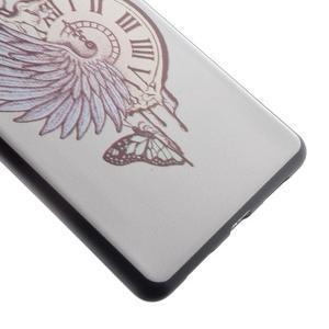 Softy gelový obal na mobil Huawei P9 Lite - antické hodiny - 3
