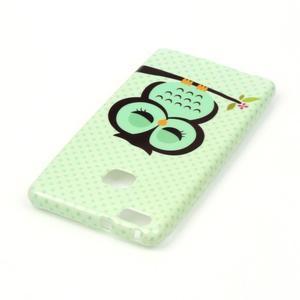 Emotive gelový obal na mobil Huawei P9 Lite - sovička - 3