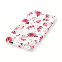 Emotive gelový obal na mobil Huawei P9 Lite - květiny - 3/4
