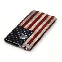 Emotive gelový obal na mobil Huawei P9 Lite - US vlajka - 3/4