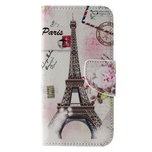 Emotive PU kožené pouzdro na Huawei Y5 - Eiffelova věž - 3
