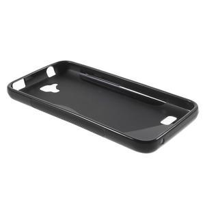S-line gelový obal na mobil Huawei Y5 a Y560 - černý - 3