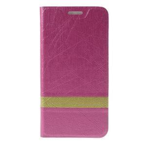 Lines pouzdro na mobil Huawei Y6 - rose - 3