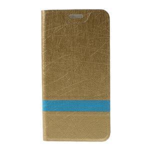 Lines pouzdro na mobil Huawei Y6 - zlaté - 3