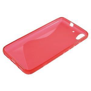 S-line gelový obal na mobil Huawei Y6 - červený - 3