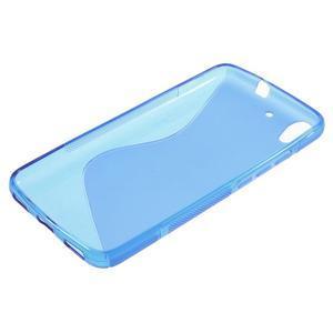 S-line gelový obal na mobil Huawei Y6 - modrý - 3
