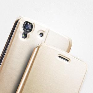 Vintage PU kožené pouzdro na mobil Huawei Y6 - černé - 3