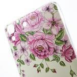 Softy gelový obal na mobil Huawei Y6 - květiny - 3/6