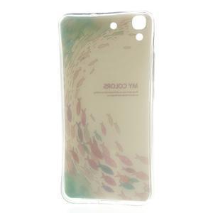 Softy gelový obal na mobil Huawei Y6 - ryby - 3
