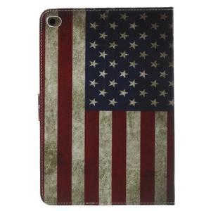 Stylové pouzdro na iPad mini 4 - US vlajka - 3