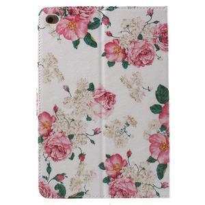 Stylové pouzdro na iPad mini 4 - květiny - 3