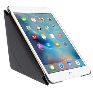 Origami polhovatelné pouzdro na iPad mini 4 - černé - 3