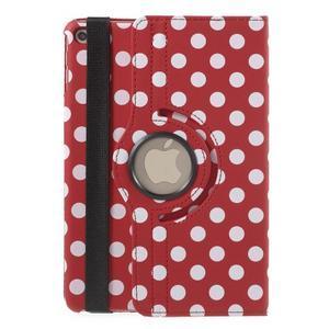 Cyrc otočné pouzdro na iPad mini 4 - červené - 3