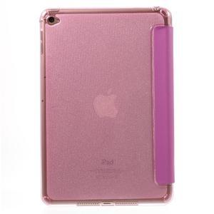Trifold trojpolohové pouzdro na tablet iPad mini 4 - rose - 3