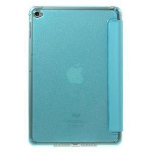 Trifold trojpolohové pouzdro na tablet iPad mini 4 - modré - 3