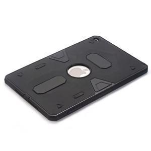 Outdoor dvoudílný gelový/plastový obal na iPad mini 4 - černý - 3