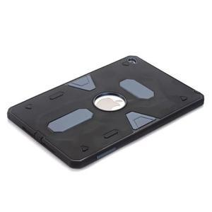 Outdoor dvoudílný gelový/plastový obal na iPad mini 4 - modrošedý - 3