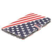 Standy pouzdro na tablet iPad mini 4 - US vlajka - 3/7