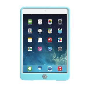Silikonové pouzdro na tablet iPad mini 4 - cyan - 3