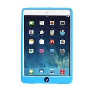 Silikonové pouzdro na tablet iPad mini 4 - světlemodré - 3