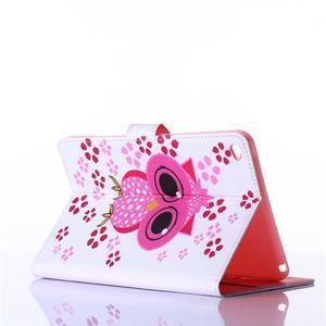 Knížkové pouzdro na tablet iPad mini 4 - sova - 3