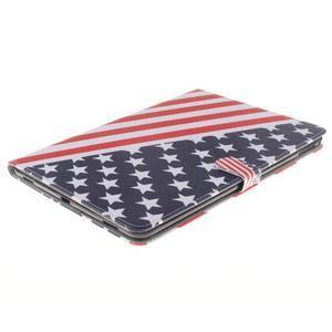 Knížkové pouzdro na tablet iPad Pro 9.7 - US vlajka - 3