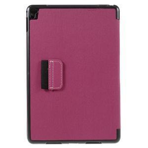 Clothy PU textilní pouzdro na iPad Pro 9.7 - rose - 3