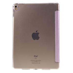 Trifold polohovatelné pouzdro na tablet iPad Pro 9.7 - růžové - 3