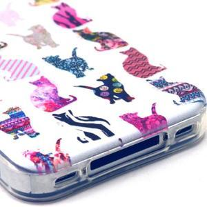 Emotive gelový obal na mobil iPhone 4 - kočičky - 3