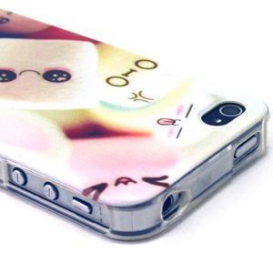 Emotive gelový obal na mobil iPhone 4 - kokina - 3