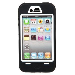 Armor vysoce odolný obal na iPhone 4 - černý - 3