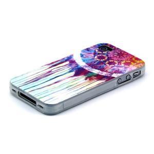 Emotive gelový obal na mobil iPhone 4 - lapač snů - 3