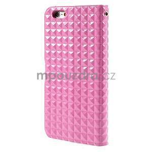Cool style pouzdro na iPhone 6s a iPhone 6 - růžové - 3