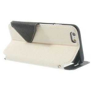 Peněženkové pouzdro s okýnkem na iPhone 6 a 6s - bílé - 3