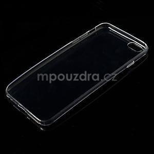 Ultra slim lesklý gelový obal na iPhone 6 Plus a 6s Plus - transparentní - 3