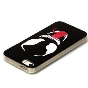 Gelový obal na mobil iPhone SE / 5s / 5 - příšera - 3