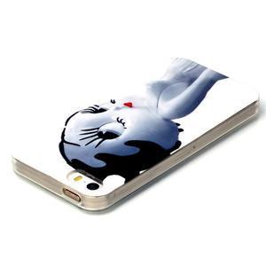 Gelový obal na mobil iPhone SE / 5s / 5 - kočička - 3