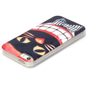 Gelový obal na mobil iPhone SE / 5s / 5 - kočka - 3