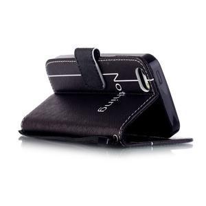 Peněženkové pouzdro na mobil iPhone SE / 5s / 5 - nothing - 3